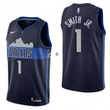 Camisetas NBA de Dennis Smith Jr Dallas Mavericks Negro Statement 17/18