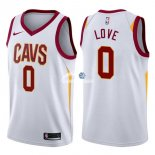 Camisetas NBA de Kevin Love Cleveland Cavaliers 17/18 Blanco Association